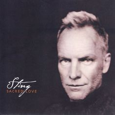 P22 Cezanne font use on Sting's Scared Love album