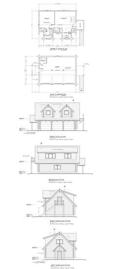 Garage Apartment Floor Plans | Log Garage Apartment Floor Plans