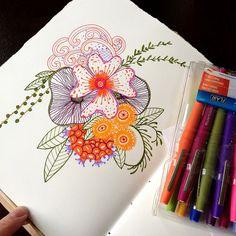 marker zen doodle