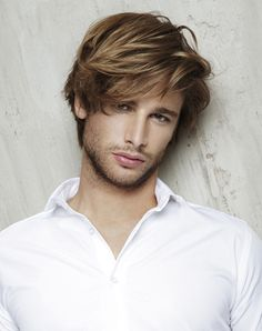 Men's Hairstyles Spring-Summer 2013 Trends: Do not cut your hair too short! ~ Men Chic- Men's Fashion and Lifestyle Online Magazine