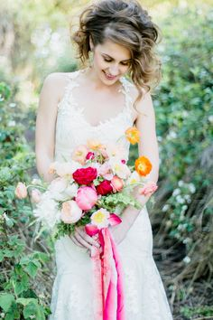 Wedding Blog Coral and Citrus Summer Wedding Ideas