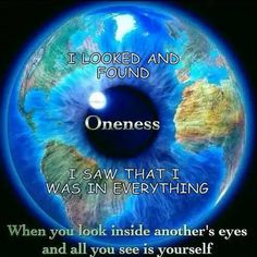 #Oneness ~www.ahhhyes.com
