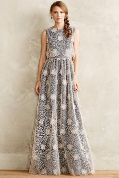 I love fancy dresses and gowns like this one #anthrofave