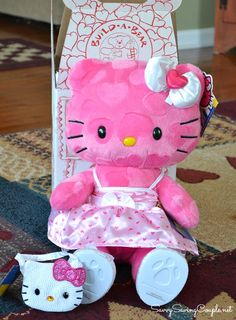 Limited Edition: Sweet As Can Be Pink Hearts Hello Kitty®  #buildabear
