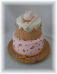 Having a hard time finding cute cowgirl cakes. This is the best I've got.