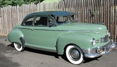 1947 Nash 600 Super Brougham Coupe...lots of extras..