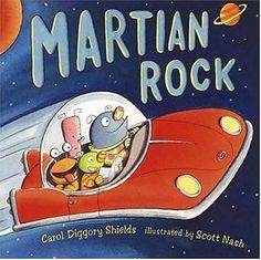 Martian Rock by Carol Diggory Shields, Scott Nash (Illustrator)