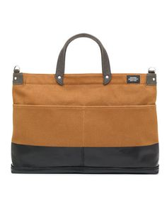 industrial canvas dipped york bag