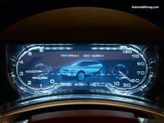 2008 Land Rover LRX Concept Digital Dashboard