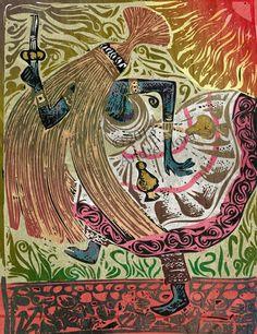 Babalú ayé , Omulu art by André Hora