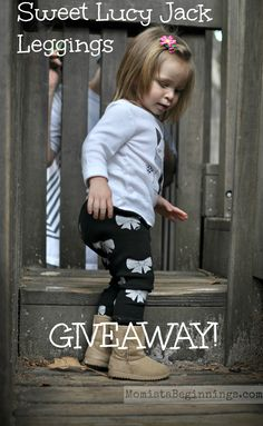 Sweet Lucy Jack leggings GIVEAWAY // Momista Beginnings