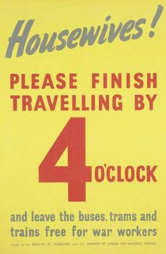 British poster, Ministry of Labour and National Service.