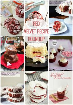 red velvet recipes, dessert recipes, recip roundup, healthi food, healthy recipes