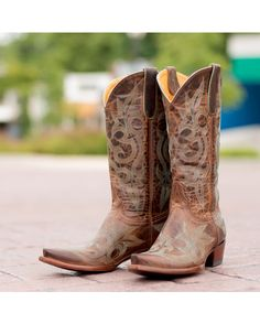 Old Gringo Women's Diego Boot - Rust/Turquoise  http://www.countryoutfitter.com/products/26837-womens-diego-boot-rust-turquoise #cowgirlboots