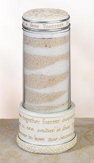 Together Forever Ivory Unity Sand Holder