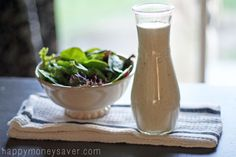 5 Amazing Homemade Salad Dressing Recipes including my Olive Garden Copycat