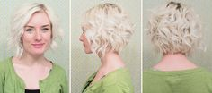 short hair style --> messy curls. | indiejane photography