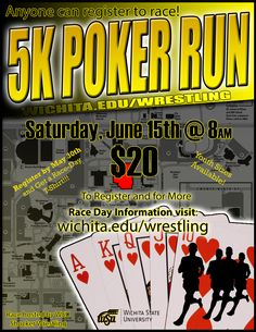 This is a 5K I've organized as a fundraiser for the wrestling team at WSU.