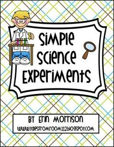 Teach your students the Scientific process using these five hands-on and interactive science experiments. These experiments integrate other science...