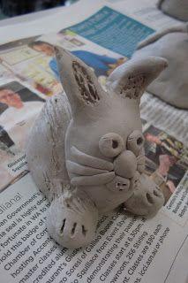 Pinch Pot Bunnies. www.onceuponanartroom.com