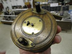 Handmade wooden fly fishing reel from Scotland - made sometime in the mid 1800's