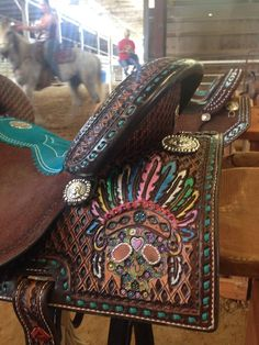 Custom Double J Saddle LOVE THIS