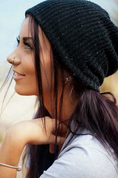 Tumblr girl! This girl is super pretty! The black hair, blue eyes, and olive skin has always made me jealous!
