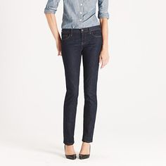 If you have the figure to pull them off, these matchstick jeans are so chic!