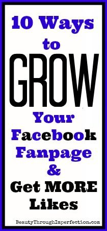 How to Grow Your Facebook Page - Beauty Through Imperfection