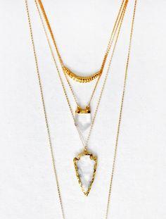 arrowhead necklac