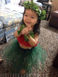 Lilo costume.  So cute!