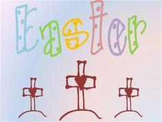 Several family & children's activities for celebrating Easter