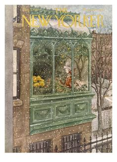 The New Yorker Cover - January 5, 1952 Giclee Print by Mary Petty at Art.com