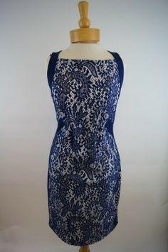 Yoana Baraschi Lace Column Dress, Made in the USA