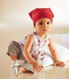 Kopftücher - little girls wearing bandanas