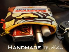 Handmade by Hilani: February Giveaway - A Great, Going Out Wallet