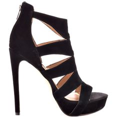 Steve Madden Black Spycee in Black Suede