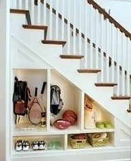 cant' get enough understairs storage