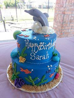 dolphin birthday cake  Dolphin Birthday Cake For A Sea Lion & Penguin ...