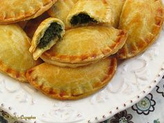 Chicken, Butternut Squash and Swiss Cheese Pocket Pies