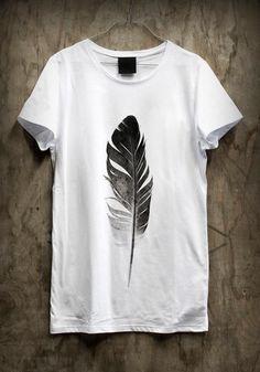 Feather tshirt