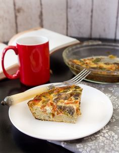 Bacon and Vegetable Quiche with Herb Crust