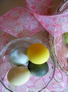 Easter Eggs Using All-Natural Dyes