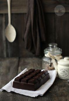 Bizcocho tableta de chocolate