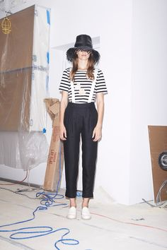 All about a crazy hat (so is Band of Outsiders)