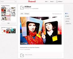 Pinterest tip on how to pin photos from Facebook