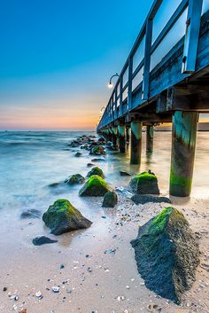 Sunset by the Jetty by Chiu Kang, via Flickr