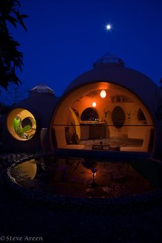 Steve's Thailand Dome Home - could have built it easier using monolithic dome technology