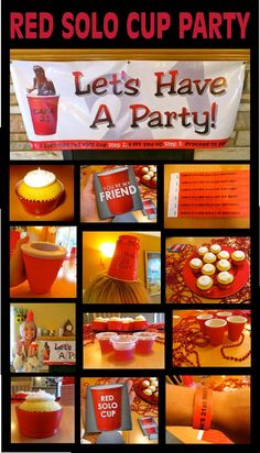 RED SOLO CUP PARTY!