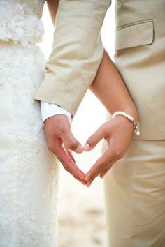 hand, wedding pics, heart shape, wedding poses, wedding photos, wedding day photos, themed weddings, photo idea, wedding pictures